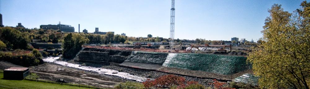 LeBreton condo before, LeBreton Flats, Ottawa, Ontario