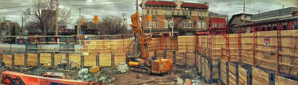 Construction, Hintonberg, Ottawa, Ontario